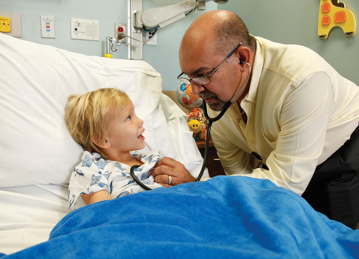 Pediatrician Giraldo Cepeda