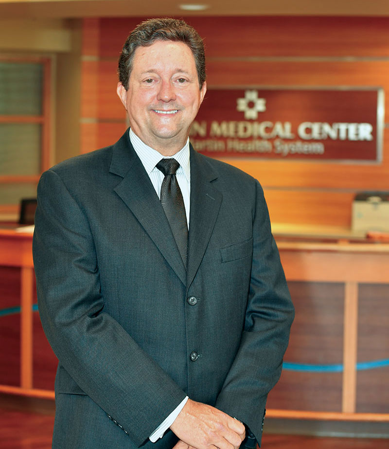 Robert Lord Jr., president and CEO of Martin Health System.