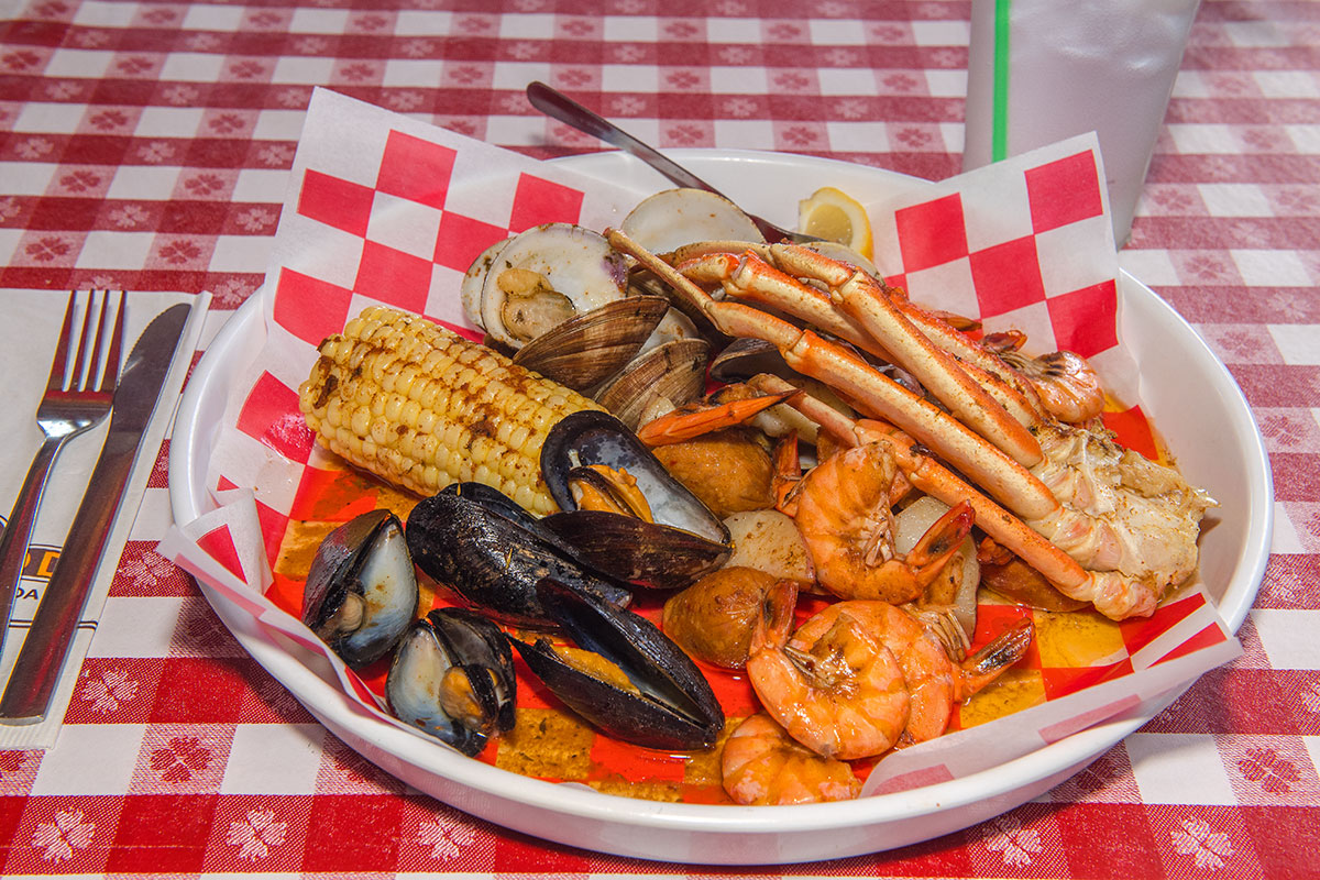 Conchy's Seafood Feast