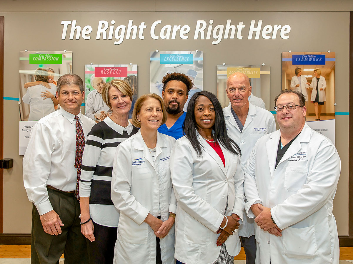 pain management team at Indian River Medical Center in Vero Beach