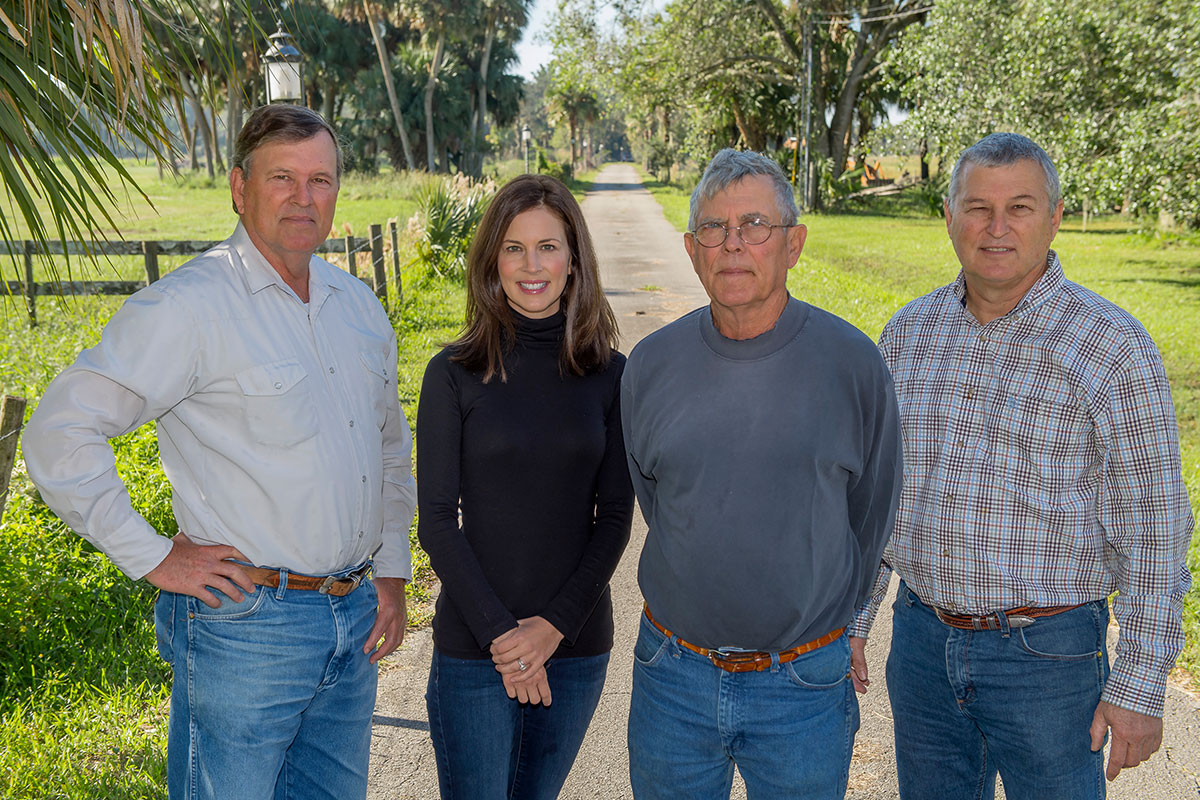 Adams Ranch Inc. management team