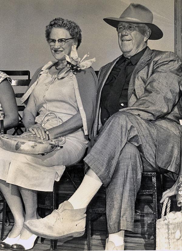 Elsebeth and Waldo Sexton