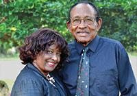 Joe Idlette Jr. and his wife, Bernice