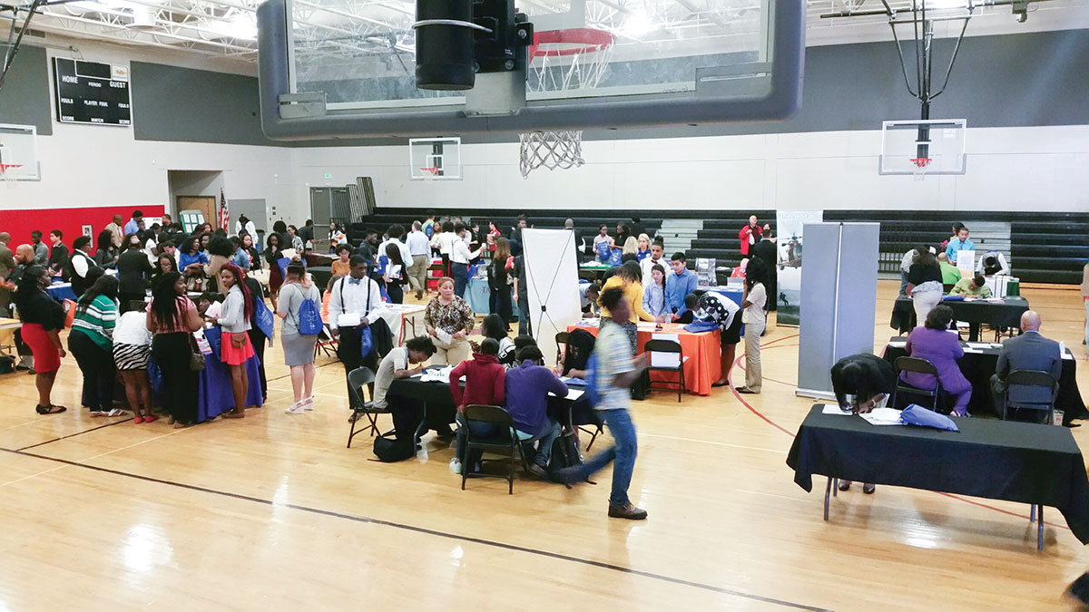 first college fair featuring historically black colleges
