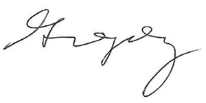 Gregory Enns Signature