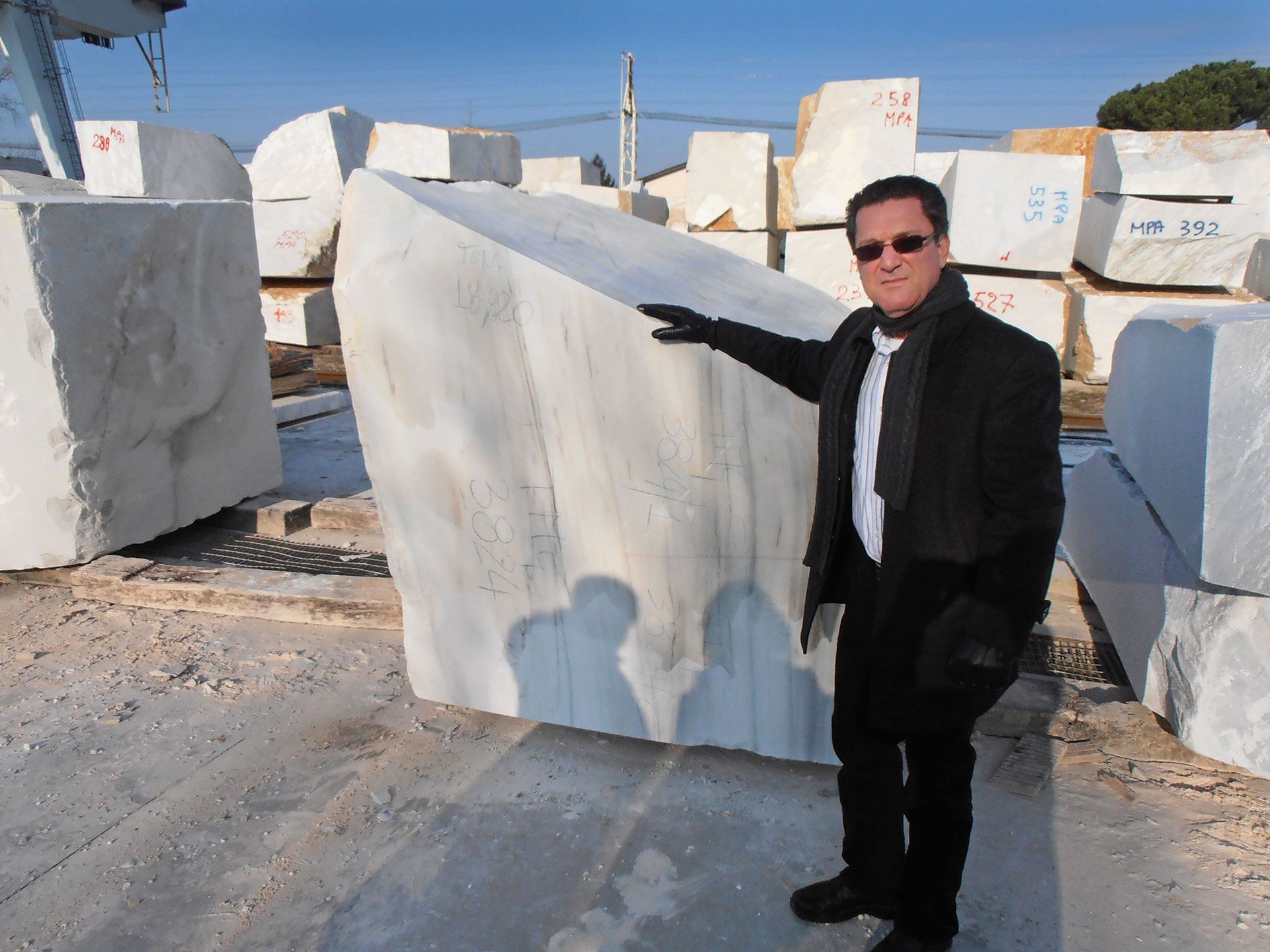 Jose Ubilla, owner of Real Stone & Granite in Fort Pierce